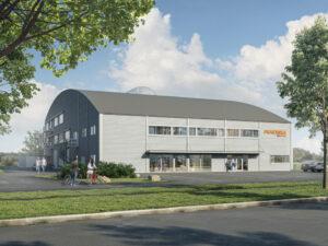 Bild av nya lokaler för Praktiska Gymnasiet Kristianstad